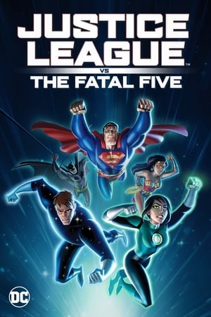 Justice League vs. the Fatal Five poszter