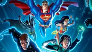 Justice League vs. the Fatal Five háttérkép